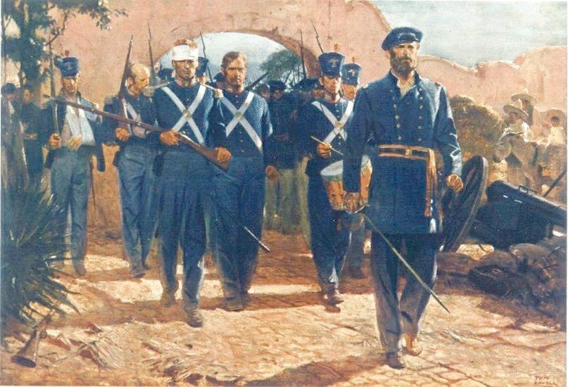 Garita De Bel 201 N The Belen Gate September 13 1847