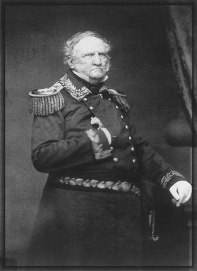 WINFIELD SCOTT - Original Member of the Aztec Club of 1847 Beauregard S